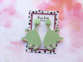 Plumpies Earrings - Pistachio