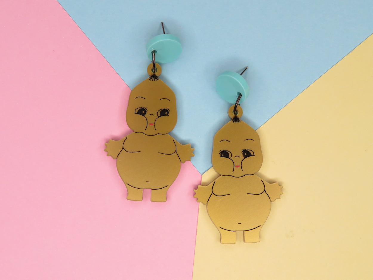 Golden Chewpie Earrings