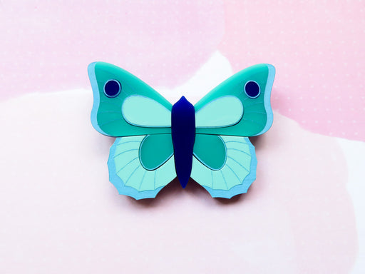 Ocean Butterfly Brooch