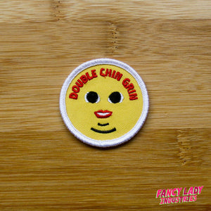 Double Chin Grin Girth Guides Patch
