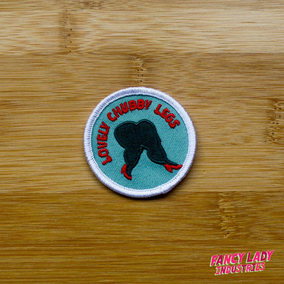 Lovely Chubby Legs Girth Guides Patch