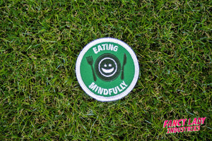 Eating Mindfully Girth Guides Patch