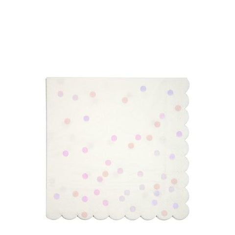 Iridescent Spots Napkins (Large)