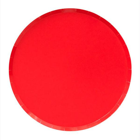 Cherry Red Plate (large)