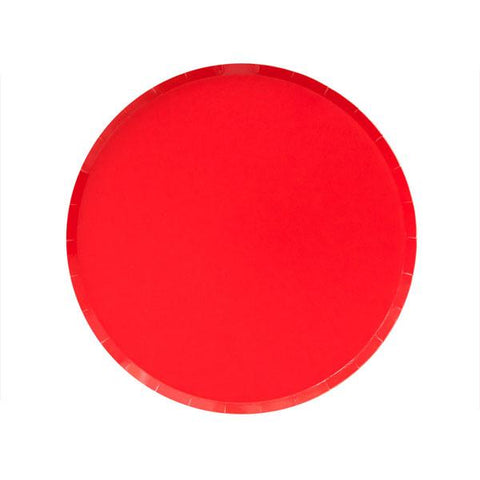 Cherry Red Plate (small)