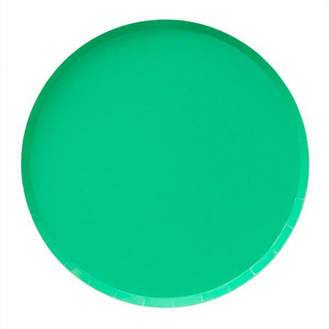Kelly Green Plate (large)