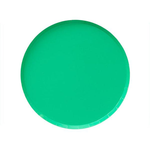 Kelly Green Plate (small)