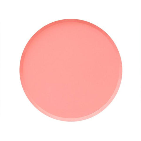 Neon Coral Plate (small)