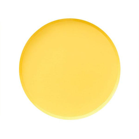 Happy Yellow Plate (small)