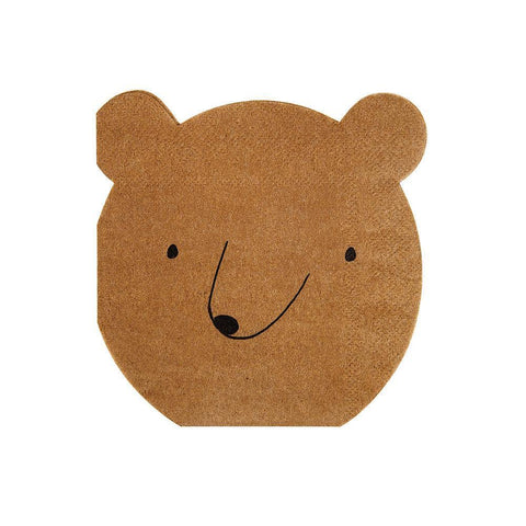 Let's Explore! Bear Napkins (small)