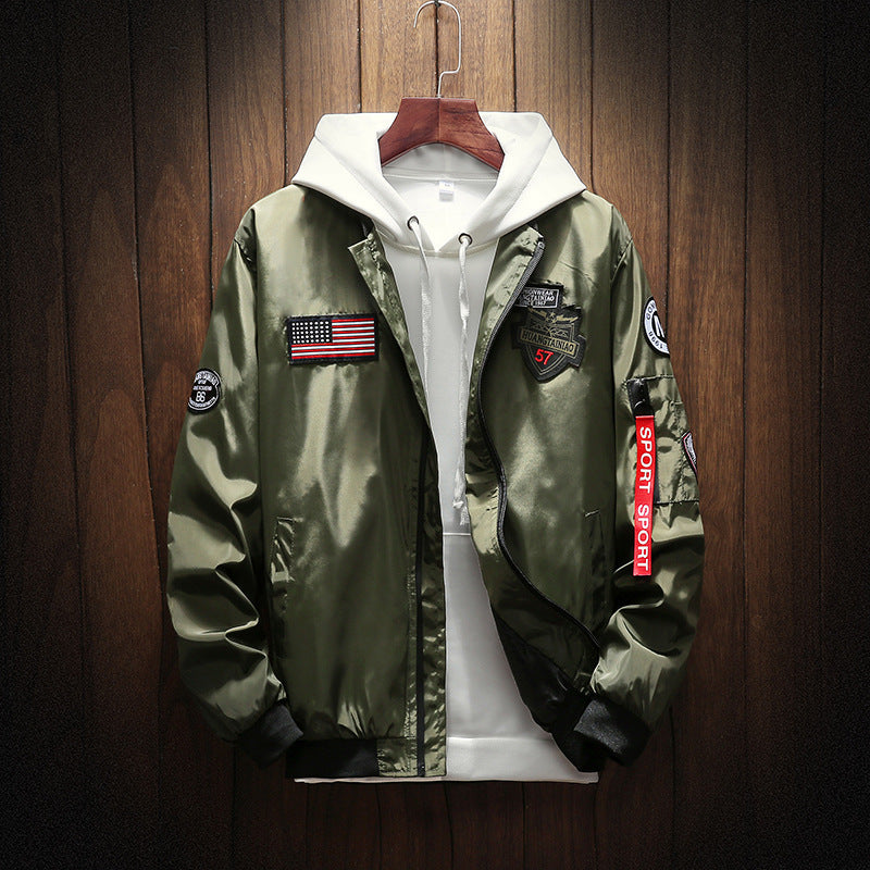 Army Bomber Jacket (4 colors)