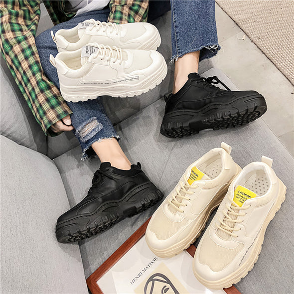 Thick-soled wild trend casual shoes