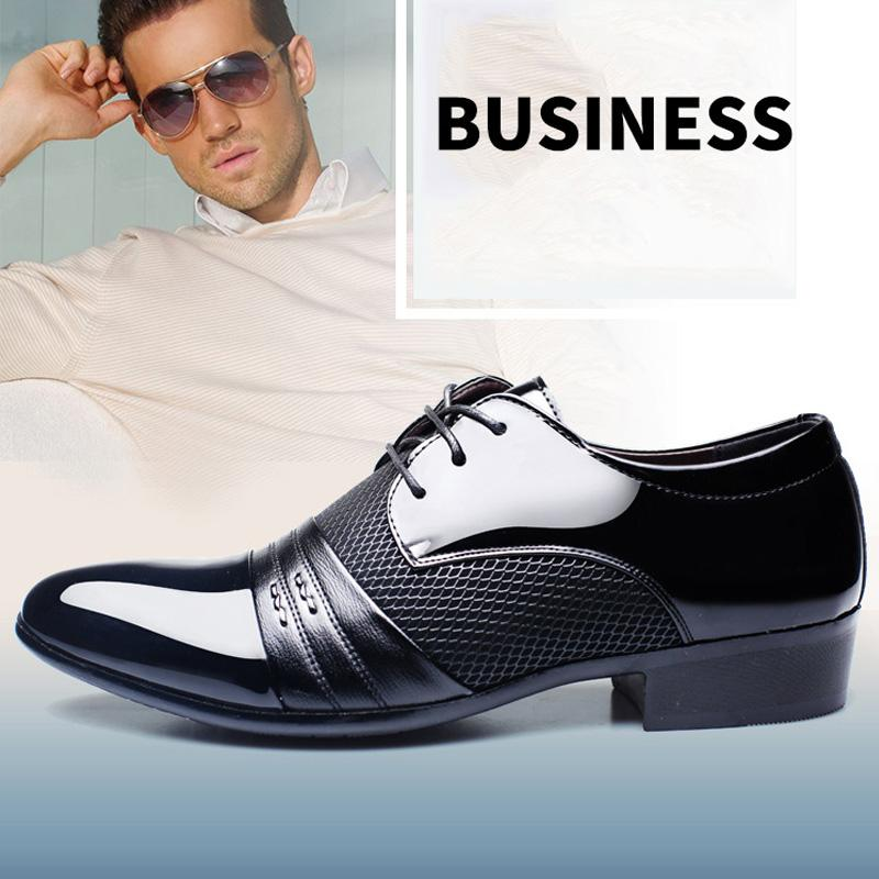 Luxury Classical Plus Size Men's Business Casual Oxfords Shoes