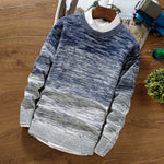 Autumn Winter Wool Sweater Knitted Sweater (3 Colors)