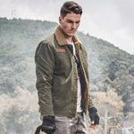 Winter Warm Bomber Jackets Men Military Army Outerwear