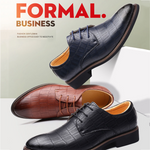 Business Men Pointed Toe Formal Wedding Party Dress Shoes