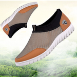 Fashion Plus Size Men Mesh Breathable Comfortable Casual Shoes