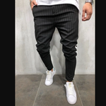 New Men's Casual Striped Pants