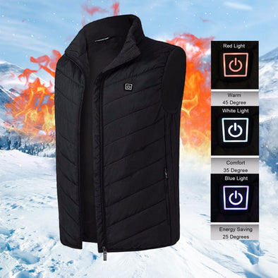 Men Women Electric Heating Vest