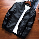 New Casual Leather Jacket (4 Colors)