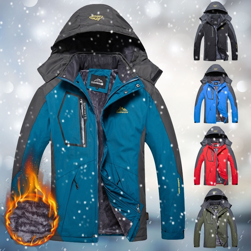 Winter Waterproof Warm Coats Mountaineering Overcoat