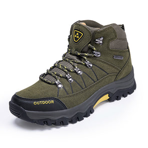 Men's Safety Shoes Construction Outdoor High Steel Toe Cap Safety Puncture Work Boots