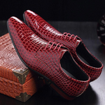 Fashion New Arrival Men Plaid Formal Shoes Pointed Toe Male Tennis