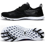 Summer Breathable Men Casual Shoes Lightweight Cushion Walking Shoes