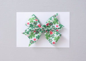Simply Ellie St. Patrick's Day Ribbon Bow