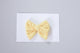 Simply Ellie Yellow Eyelet Bow