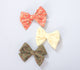 Simply Ellie Olive Green Cotton Bow