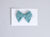 Simply Ellie Teal Blue Polka Dot Bow