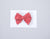 Simply Ellie Red & White Polka Dot Cotton Bow