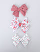 Simply Ellie Santa Claus Ribbon Bow