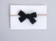 Simply Ellie Black Velvet Bow