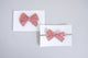 Simply Ellie Light Red Gingham Bow