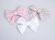 Simply Ellie Solid White Bow