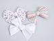 Simply Ellie Multicolored Plus Sign Bow