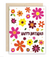 The Beautiful Project Floral Happy Birthday Card