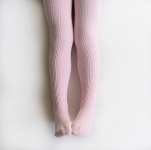 cable knit stockings baby