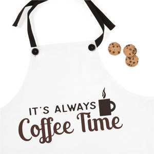 It's Always Coffee Time apron