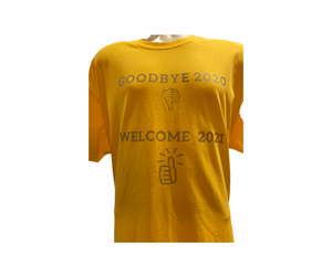 Goodbye 2020 Welcome 2021 (Thumbs-up/down) Tees
