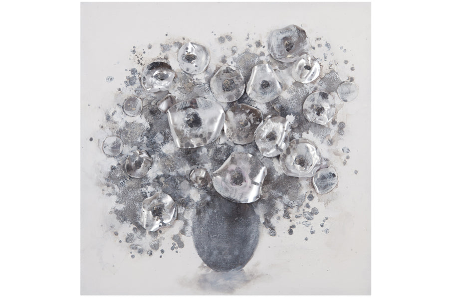 SILVER BOUQUET - WALL ACCESSORIES