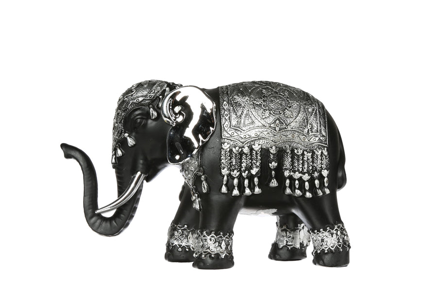 SILVER ELEPHANT - STATUE