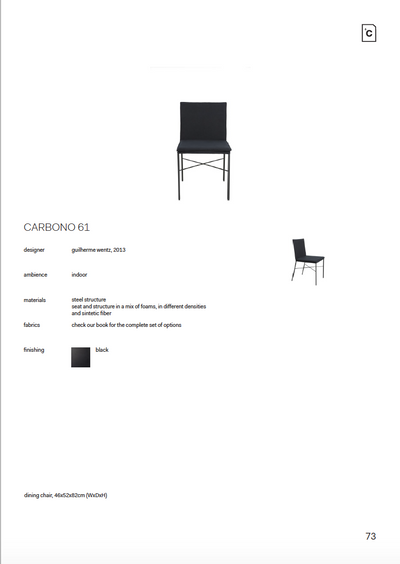 CARBONO 61 - CHAIR