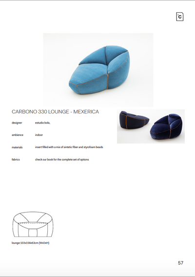 CARBONO 330 - LOUNGE CHAIR