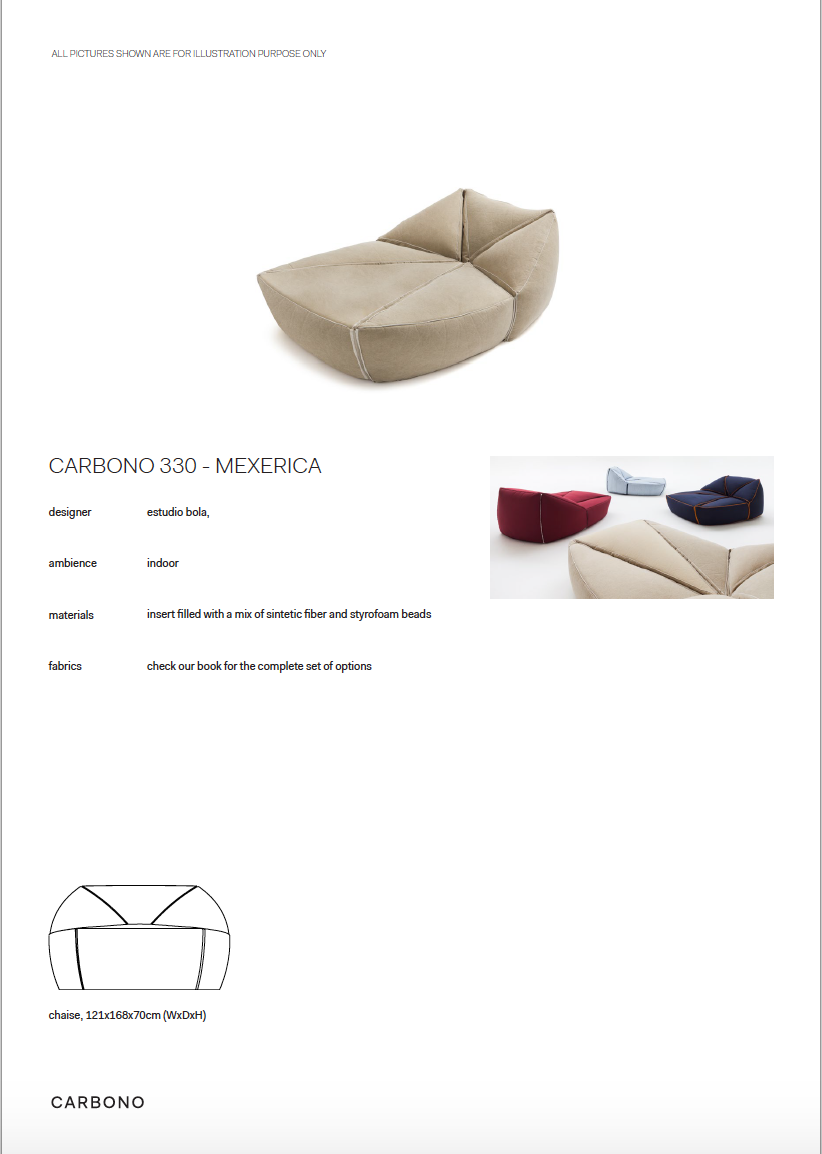 CARBONO 330 - DAY BED