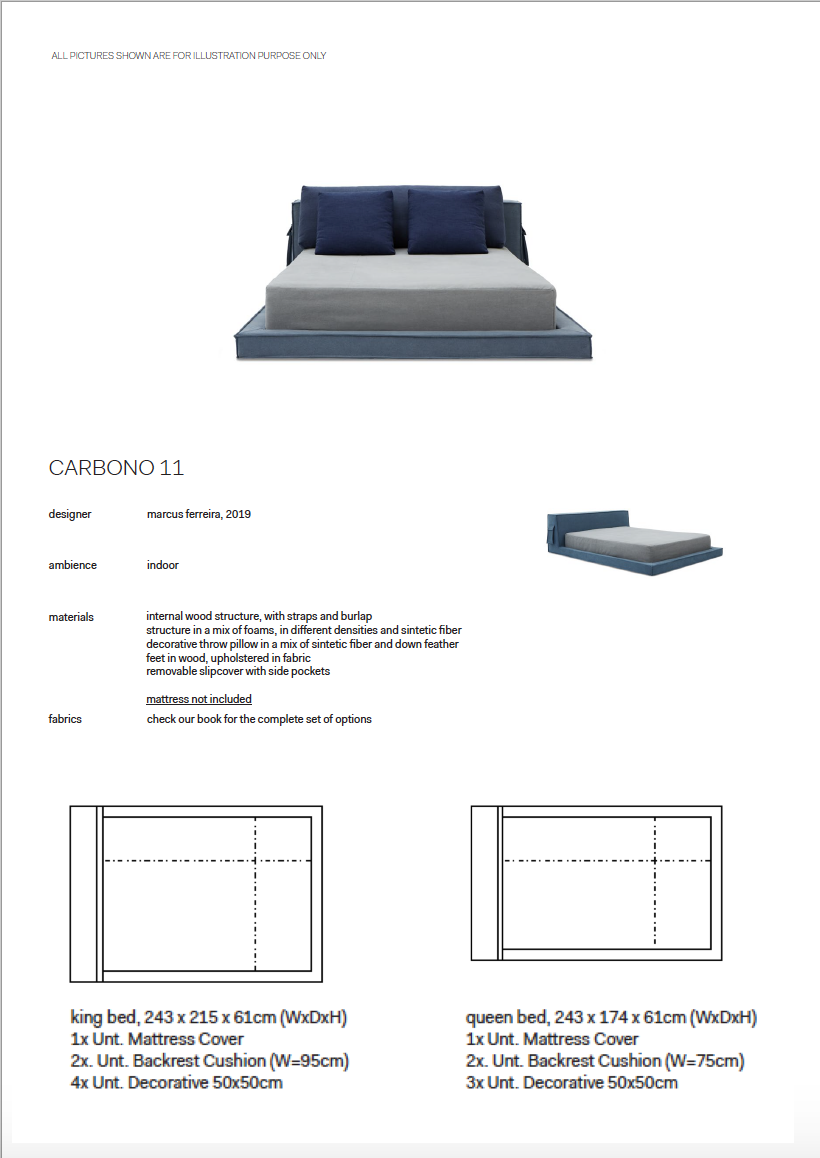 CARBONO 11 - BED