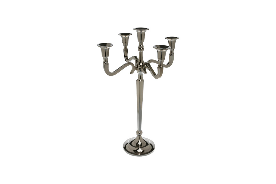 CHANDELIER - CANDLE HOLDER - 5 HEADERS L