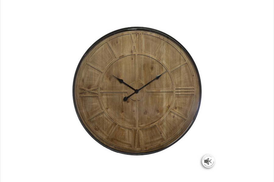 CARVED - CLOCK